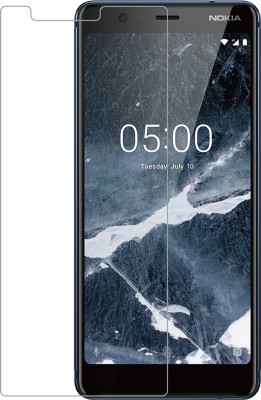 AMETHYST Tempered Glass Guard for NOKIA 5.1 (5.5 INCHES)(Pack of 1)