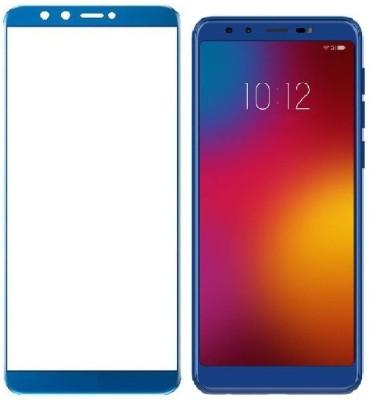 Nedort Edge To Edge Tempered Glass for Lenova K9, Lenovo K9 (Blue)(Pack of 1)