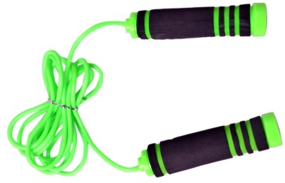SPORTSHOLIC New Jump Skipping Rope With Foam Grip Handle For Men Women Exercise Freestyle Skipping Rope(Multicolor, Length: 270 inch)