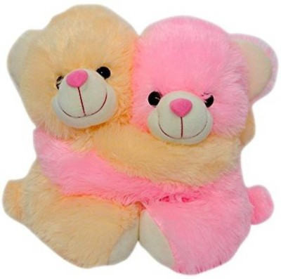 Gifteria Couple Bear   30 cm  Pink Beige    30 cm Multicolor Gifteria Soft Toys