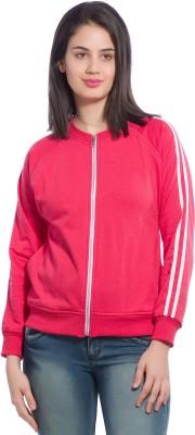 Alan Jones Full Sleeve Striped Women Sweatshirt