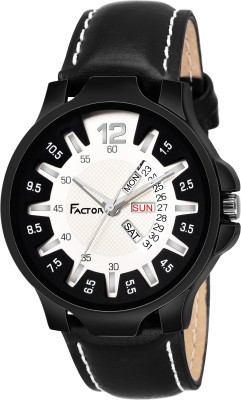 Factor FR-G570-BKCR-DD Super Black Party Player Edition Analog Watch  - For Men