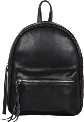Lychee lb98blk Backpack Black, 10 inch Lychee Backpack Handbags