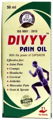 Divyy PAIN RELIEF OIL Liquid(50 ml)