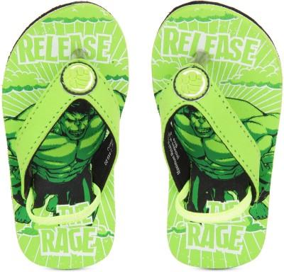 Disney Boys Slip On Slipper Flip Flop(Green) at flipkart