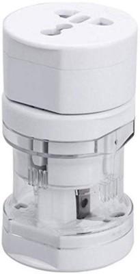 Rhobos International Universal World Wide All In One Plug Charger Worldwide Adaptor(Multicolor)