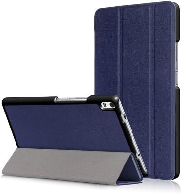 SPL Book Cover for Lenovo Tab 4 Plus 8 inch(Dark Blue)