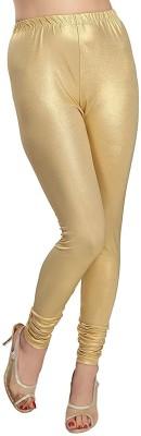 BEST DEAL Churidar  Legging(Gold, Solid)