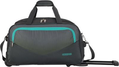 American Tourister OHIO WHEEL DUFFLE 65 cm- GREY Duffel Strolley Bag (Grey)