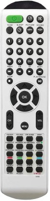 LipiWorld SS82 S-MT22 LCD LED TV Remote Control Compatible for Sansui LCD LED TV Remote Controller(White)