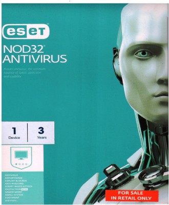 Eset NOD32 Antivirus 2017, 1 PC 3 Year