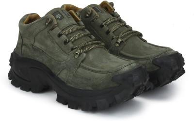Woodland Men Outdoors Shoes For Men(Olive)