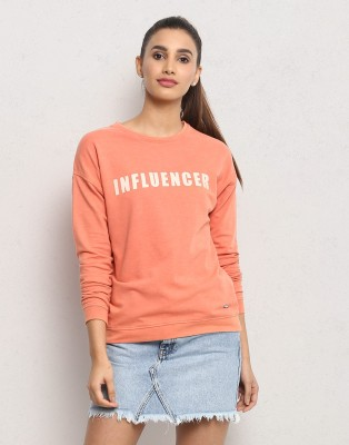 Metronaut Full Sleeve Printed Women's Sweatshirt