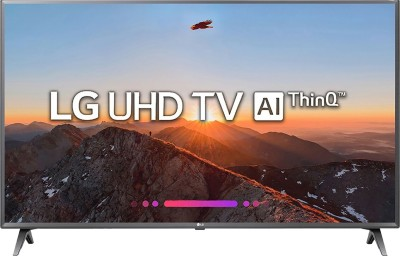 LG 126cm (50 inch) Ultra HD (4K) LED Smart TV 2018 Edition(50UK6560PTC)   TV  (LG)