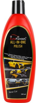 Autofurnish Liquid Car Polish for Leather, Metal Parts, Chrome Accent  (200 ml)