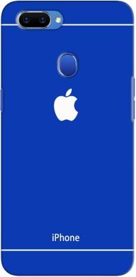 Mobi Elite Back Cover for Oppo A5(Blue, Plastic)
