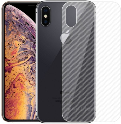 Case Creation Back Screen Guard for Apple iPhone XS Max(Pack of 1)