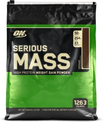 Optimum Nutrition Serious Mass (12lbs, Chocolate)