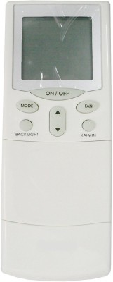 VBEST Compatible Hitachi AC REMOTE WITH BACKLIGHT AND TIMER Remote Controller(White)