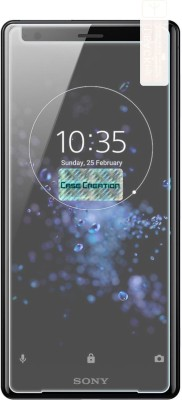 Case Creation Tempered Glass Guard for Sony Xperia XA1 Ultra (6.0-inch)(Pack of 1)