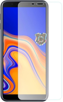 Case Creation Tempered Glass Guard for Samsung Galaxy J6(Pack of 1)