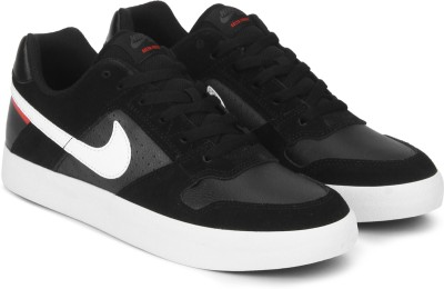 Nike SB DELTA FORCE VULC Sneakers For Men(Black) 1