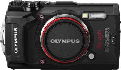 Olympus TG-5 Black Point and Shoot Camera(12 MP, 4x Optical Zoom, 4x Digital Zoom, Black)