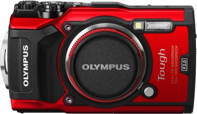 Olympus TG-5 Tough Water proof Point and Shoot Camera(12 MP, 4x Optical Zoom, 4x Digital Zoom, Red)