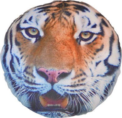 Deals India Animal 3D print cushion   Tiger  35 cm    35 cm Multicolor Deals India Soft Toys