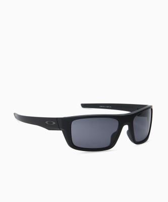 Oakley Wrap-around Sunglass(Grey)