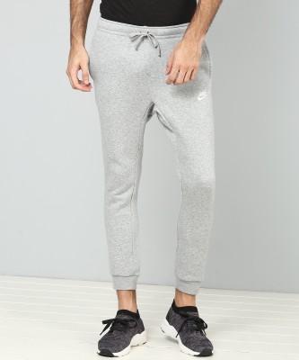 Nike Solid Men Grey Track Pants at flipkart