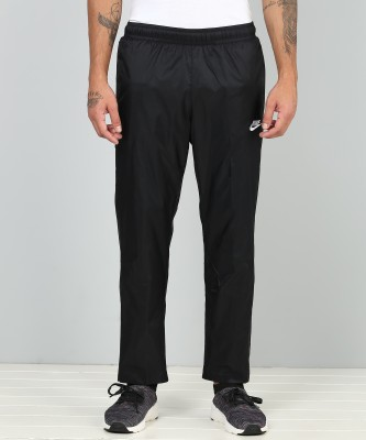 Nike Solid Men Black Track Pants at flipkart