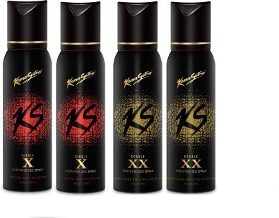 Kamasutra Black Series Deo Spray Combo Set(Set of 4) at flipkart