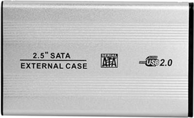 "Ps External Portable Sata Casing Hard Disk Case Usb 2.0 2.5 inch External Hard Drive Enclosure 2.5 Hard Disk Enclosure(For 2.5\"" Hard Drive, Multicolors)"