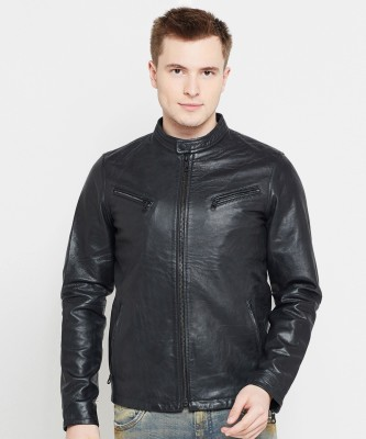 Jack & Jones Full Sleeve Solid Men Casual  Jacket at flipkart