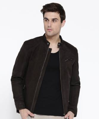 Jack & Jones Full Sleeve Solid Men's Casual  Jacket