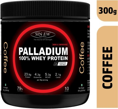 Sinew Nutrition Palladium Whey Protein with Digestive Enzymes, 300 grm (Coffee) Whey Protein(300 g, Coffee)  available at flipkart for Rs.1099