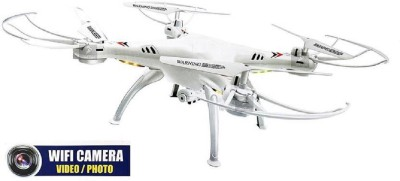 Vision Quadcopter With Wifi Camera, 4CH 2.4GHz Remote Control, Live Video and Real-time Streaming FPV, WiFi Camera Quadcopter, 6 Axis Gyro Drone Quadcopter, 3D Flips n Rolls, Real Time Wifi Camera Dro at flipkart