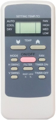 LipiWorld 137 AC Remote Compatible for Hitachi AC Remote Controller(White)