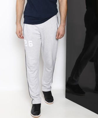 Ducati Solid Men Grey Track Pants at flipkart