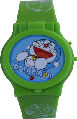 DORAEMON (R-TM) Hot Design watch with 10 Different Stills changeable dial Stickers pack Digital Watch  - For Boys & Girls