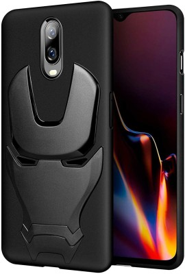 Bracevor Back Cover for OnePlus 6T(Black, Shock Proof, Silicon)