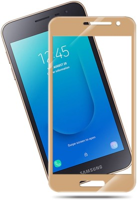 Hupshy Edge To Edge Tempered Glass for Samsung Galaxy J2 core(Pack of 1)