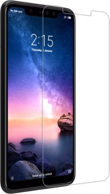 MOBIWIN Tempered Glass Guard for Mi Redmi Note 6 Pro(Pack of 1)