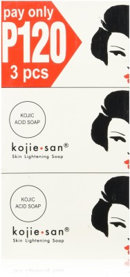 Kojiesan SKIN LIGHTING SOAP (PACK OF 3Pcs)(3 x 100 g)
