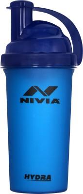 NIVIA Hydra 700 ml Shaker (Pack of 1, Blue, Plastic)