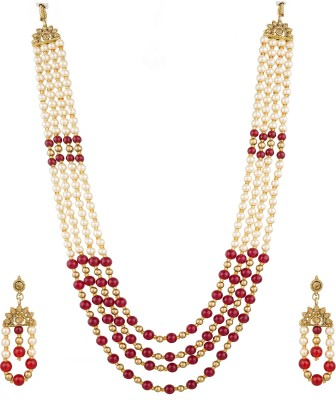 LUXOR Glass Jewel Set Multicolor LUXOR Jewellery Sets