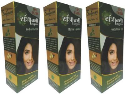 SANJEEVANI NATURAL Herbal Hair Oil (PACK OF 3) Hair Oil(330 ml)
