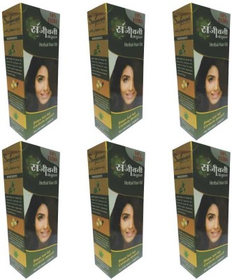 SANJEEVANI NATURAL Herbal Hair Oil (PACK OF 6) Hair Oil(660 ml)