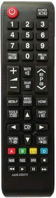 LipiWorld AA59-00607A LED/LCD Remote Control Compatible for  LED/LCD Samsung Remote Controller(Black)